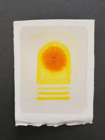 Captured Dream: Yellow Spot
