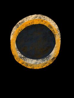 Two Rings (orange & yellow)