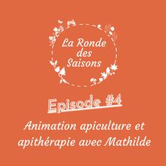 La Ronde des Saisons #4 - Animation apiculture et apithérapie avec Mathilde de La Belle à Miel