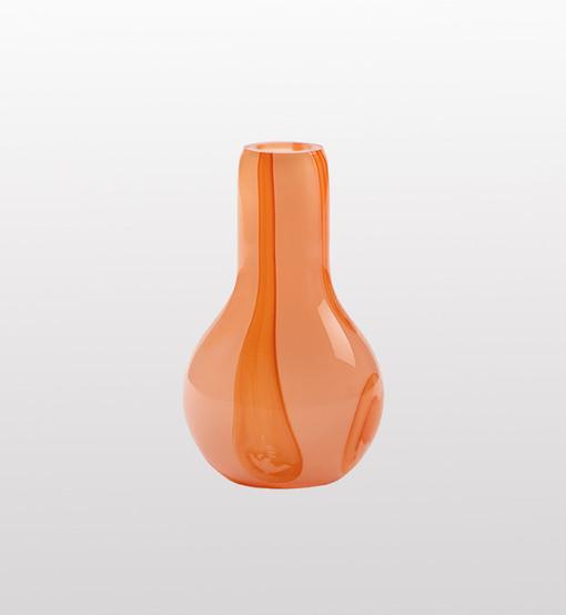 Glass vase by Kodanska.
