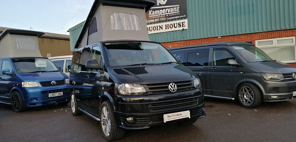 2014(64) VW T5 in BLACK - Highline, SWB