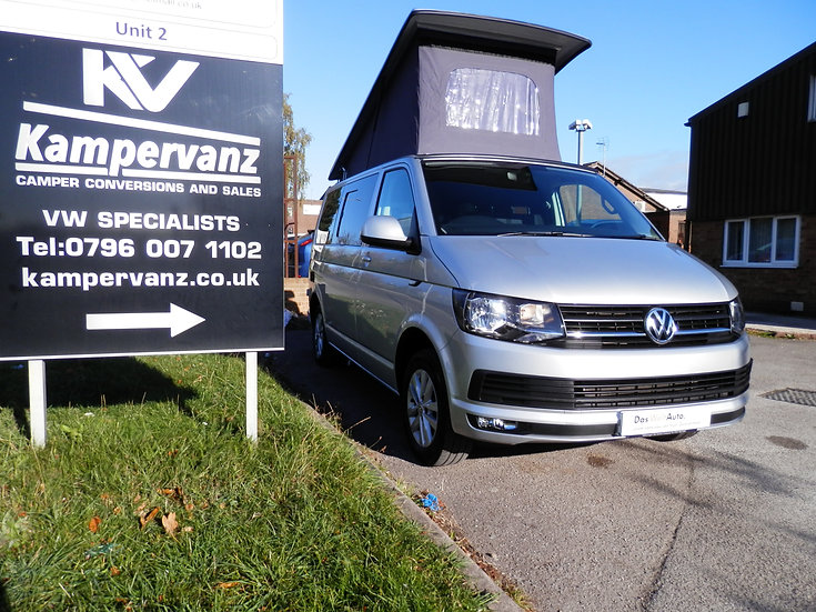 2017(17) VW T6 in METALLIC SILVER - Highline With SAT Navigation