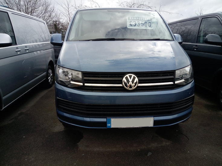 2017 VW T6 in Accapulco Blue - Trendline with A/C