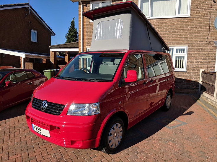2008(58) VW T5 in Red
