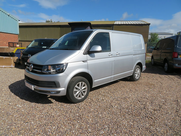 2018(68) VW T6 in SILVER- Highline, SWB,