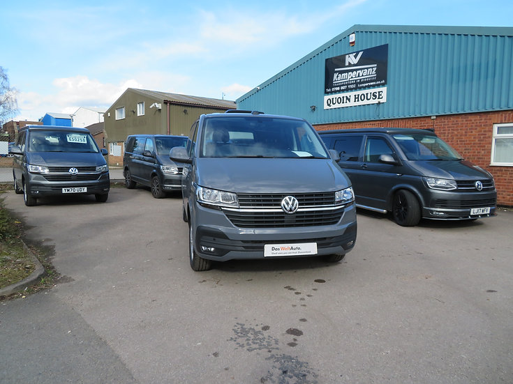2021 (21) VW T6.1 in PURE GREY DSG - Highline, SWB