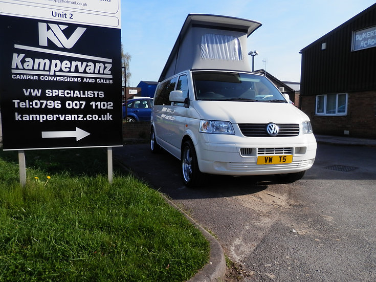 2006(56) VW T5 in White - LWB
