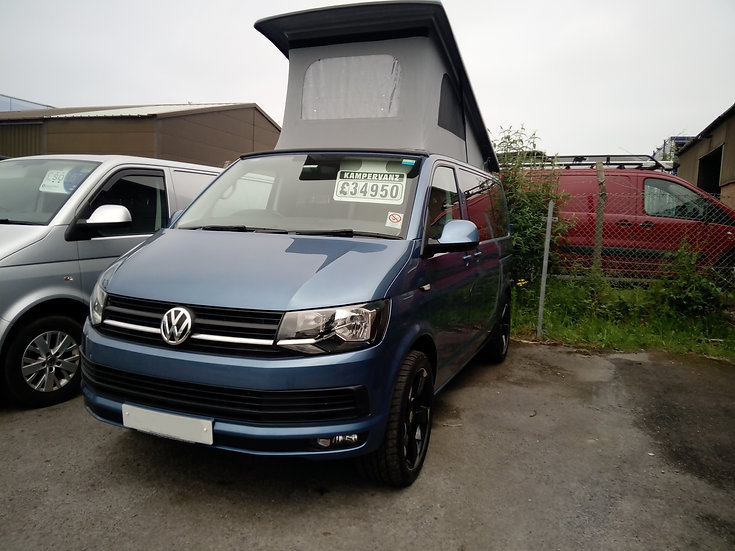 2017(17) VW T6 in Accapulco Blue - Highline 150bhp