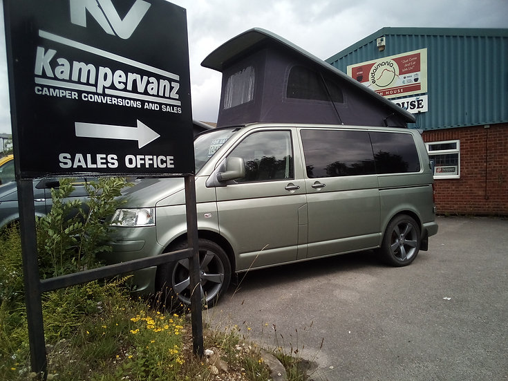 2009 (09) VW SWB T5 Green Campervan 174bhp LOW MILEAGE 24,000K