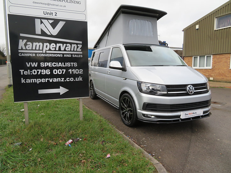 2016(16) 140bhp VW T6 in Metallic Silver - Highline, SWB