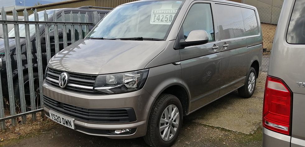 2020(20) VW T6 in MOJAVE BEIGE 150BHP - Highline, SWB