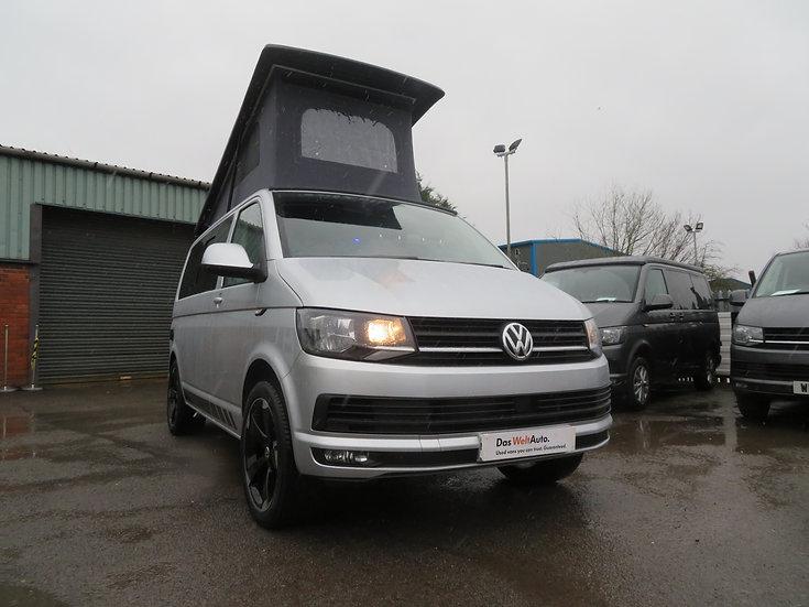 2018(18)  VW T6 in Metallic Silver Campervan - Highline, SWB