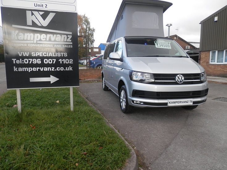 2017(17) VW T6 in Silver - Highline