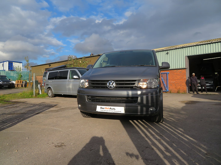 2015(15) 180bhp VW T5 in Natural Grey - Highline, LWB