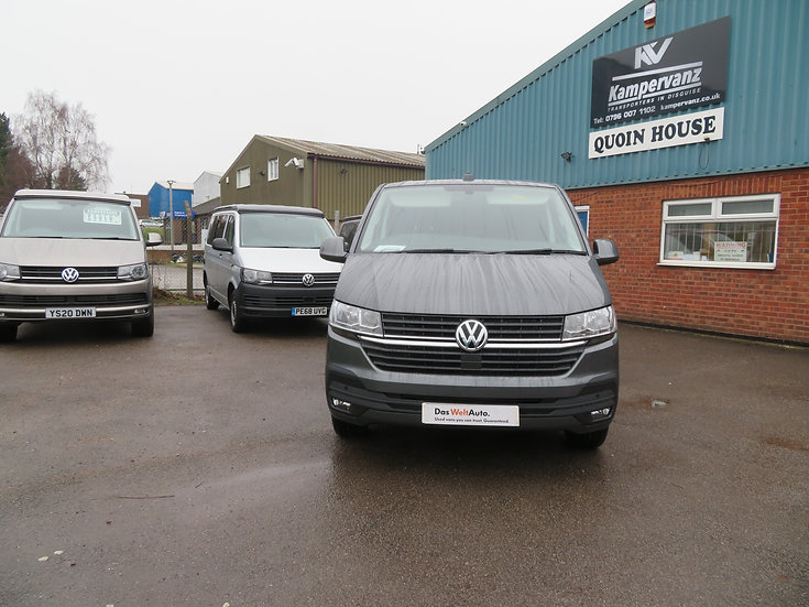 2021 (70) VW T6.1 in Indium Grey 150BHP - Highline, SWB