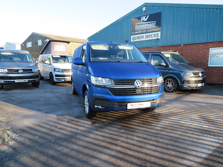 2021 (70) VW T6.1 in REVENNA BLUE DSG - Highline, SWB