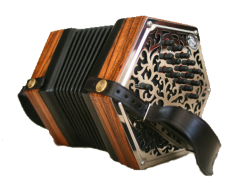 CG or GD Anglo Concertina Lesson