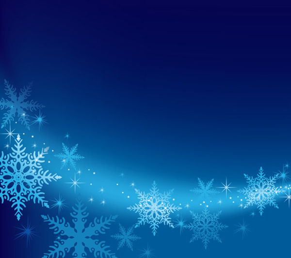 brilliant_snowflakes_winter_vector_backg