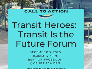 Transit is our Past, our Present, our FUTURE