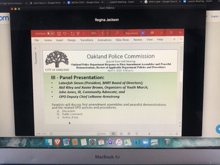 Oakland Police Commission Addresses Black Lives Matter