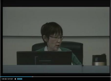 Alameda County Board of Supervisors Transcript