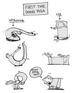 Moj prvi sat yoge