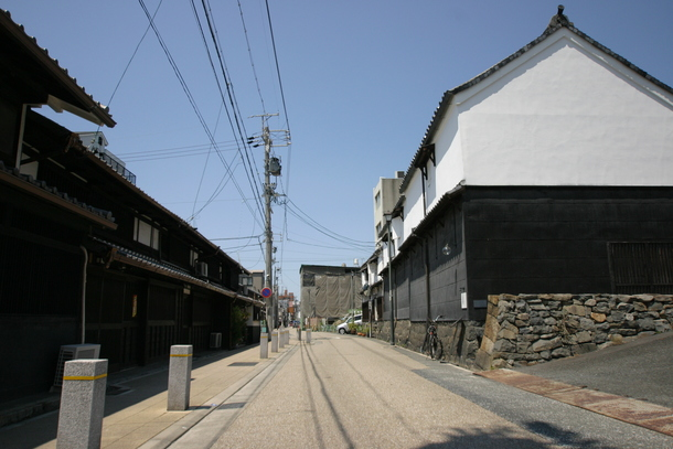 町並み保存地区「四間道」