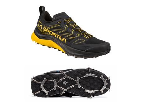Pitoa ja suojaa talven juoksukeleille: Esittelyssä Jackal GTX ja Distance Spike Traction Device