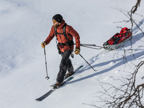 Tech Tip Tuesday: Skinbased™ Trekking With a Sled or Pulka