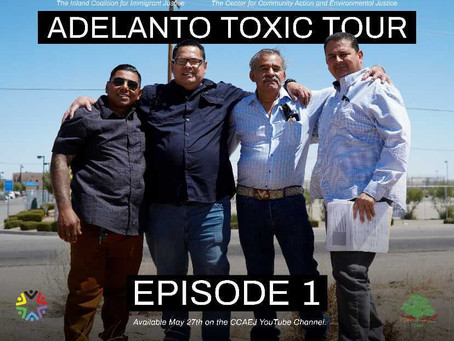 """""""Adelanto Toxic Tour"""" Exposes issues of Environmental Racism & its impact on detained immigrants"""