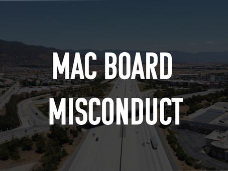 CCAEJ CONDEMNS UNPROFESSIONAL CONDUCT BY BLOOMINGTON MAC BOARD MEMBERS