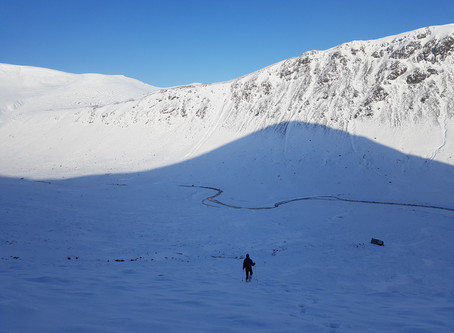 A big winter round in The Cairngorms.