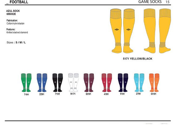 Κάλτσα ποδοσφαίρου Azul