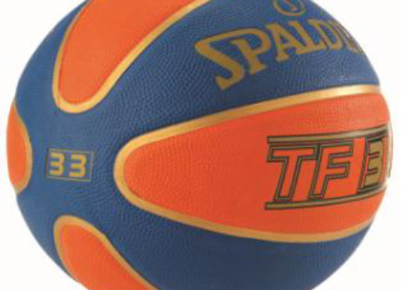 TF-33 OFFICIAL GAME BALL RUBBER SIZE 6 BUTT WEIGHT SIZE 7