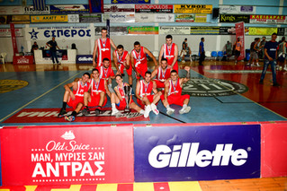 Οι Anaptiras BC πρωταθλητές στο 14ο Gillette Unibasket!