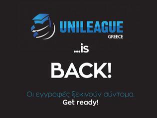 UNILEAGUE IS... BACK!