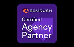 Young Monkey is een officiële, gecertificeerde SemRush Agency Partner.