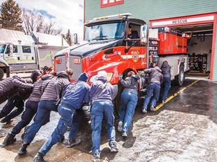 CBFPD Gets A New Fire Truck
