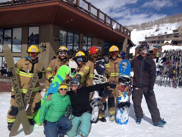 The Firefighter Ski Races