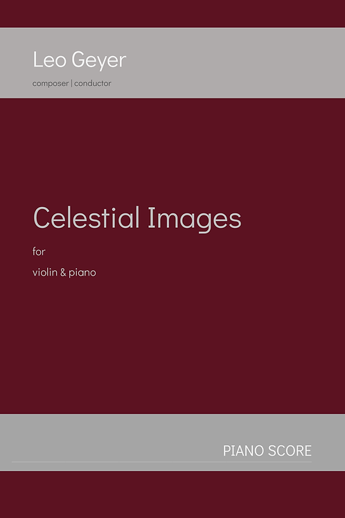 Celestial Images - Printed Copy (score & parts)