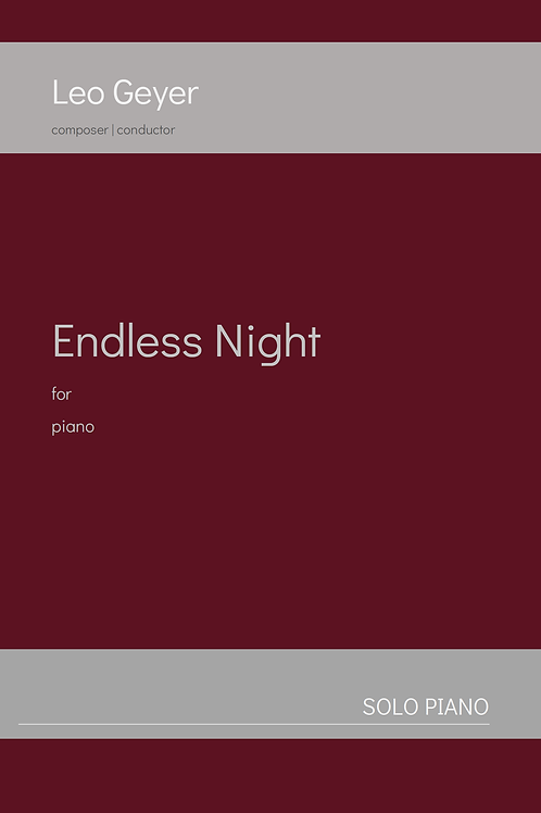Endless Night - Printed Copy