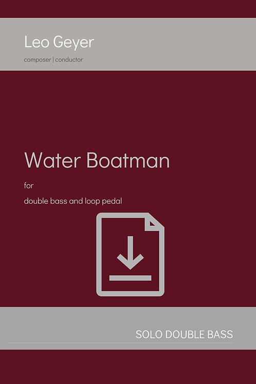 Water Boatman - Digital Download