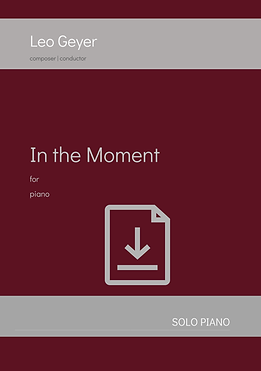In the Moment - Digital Download