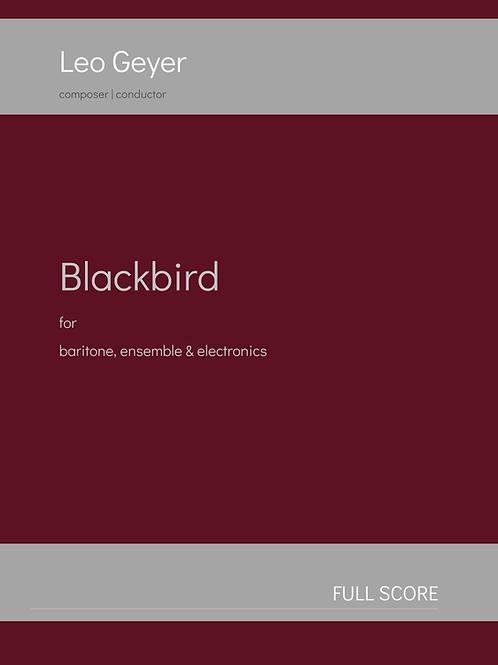 Blackbird - Printed Copy (score & parts)