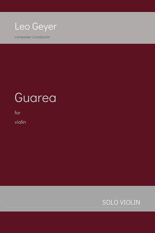 Guarea - Printed Copy