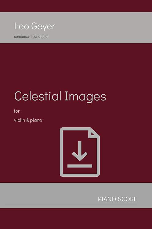 Celestial Images - Digital Download (score & parts)