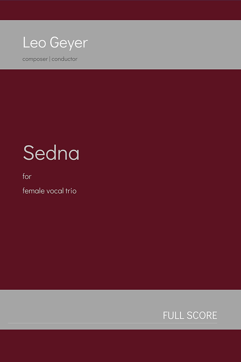 Sedna - 3 x Printed Copy