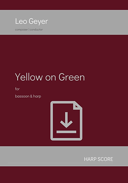 Yellow on Green - Digital Download (score &parts)