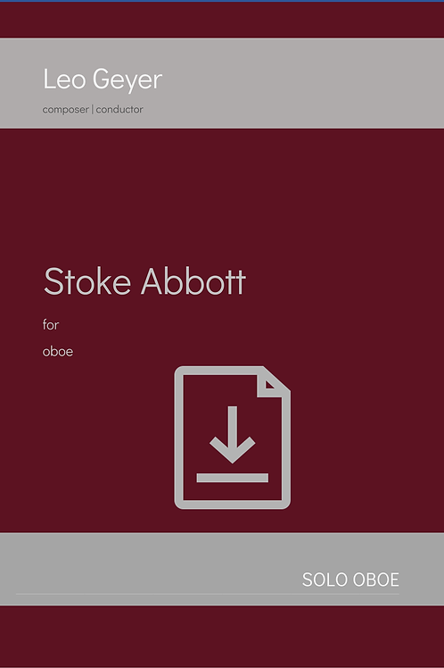 Stoke Abbott - Digital Download