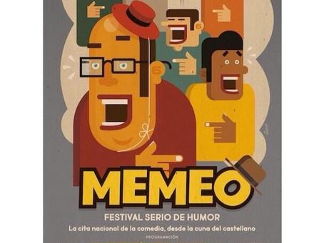 Orgasmos la comedia en el Festival Memeo de Logroño